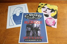 Blondie - Set of 3 Concert Posters