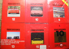 Ferrarissima Old Series no. 6, 10, 12, 13, 15 en 20. 1985-1994