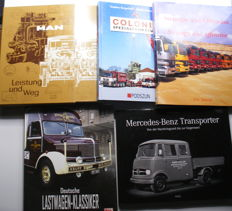 5 German Transport Books