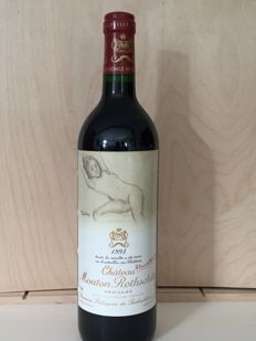 1993 Mouton Rothschild, Pauillac - 1 bottle (75cl)