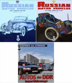 3 Books on Russian and DDR Vehicles