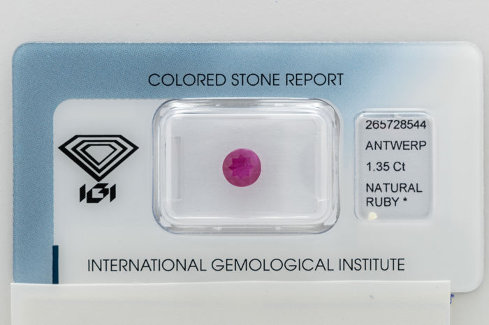 Ruby - 1.35 ct   *** No Reserve ***