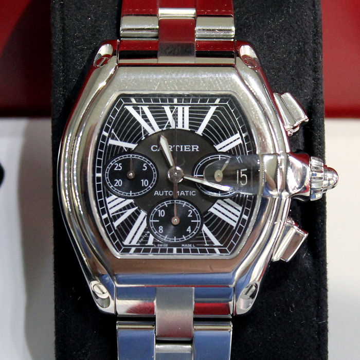 Cartier, Roadster XL Chronograph, 2618 - Unisex wristwatch from 2006