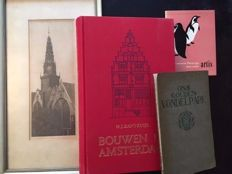 Amsterdam; Lot with 4 publications - 1900/1993