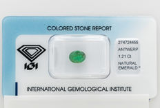 Emerald - 1.21 ct  - No Reserve