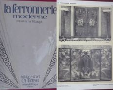 Clouzot: La Ferronnerie Moderne - Portfolio 1a + 2a edition to 'The International Exhibition of Arts décoratifs'