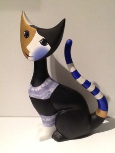 Rosina Wachtmeister for Goebel - Large cat Micio