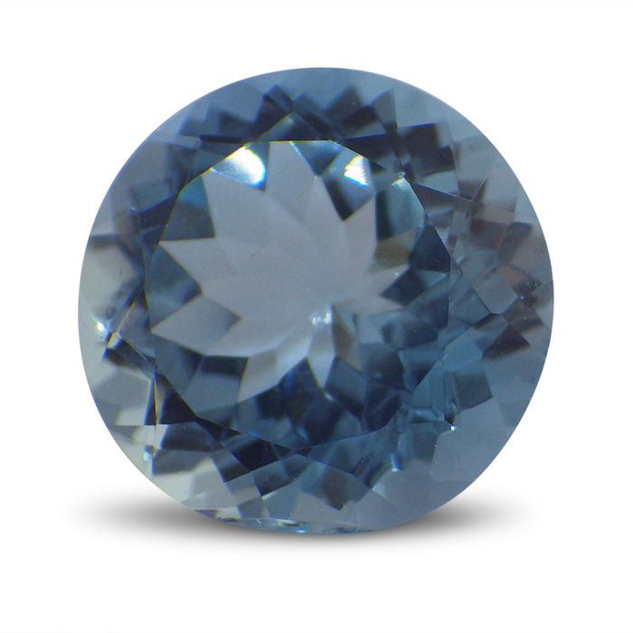 11.03 ct - Blue Topaz  - No Reserve Price