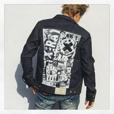 Amsterdenim Denim vs Art jacket #1 - Eric van Boxtel - Freddy