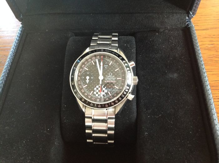Omega - Speedmaster Day - Date - Michel Schumacher Limited Edition 2002 ref. 3529.5 - Men