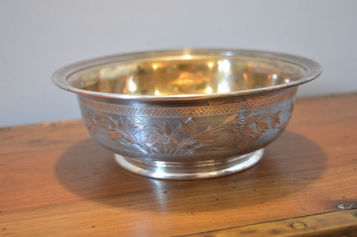 Silver Christofle Centrepiece, dated 1874, France