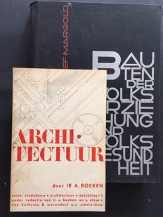 Modern architecture; Lot with 2 publications - 1930 / 1936