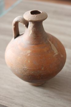 Roman one handle jar - 14.5 cm height