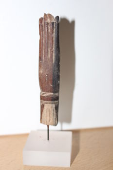 Hand aus Holz-91mm Höhe