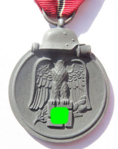 German Ostmedaille / Winterschlacht im Osten medal, maker (7) Paul Meybauer from Berlin - WW2