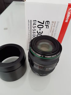 Canon 70-300mm F4.5-5.6 DO IS USM (including box)