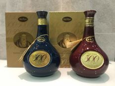 2 bottles - Old Parr 500 15 Years Old Decanter