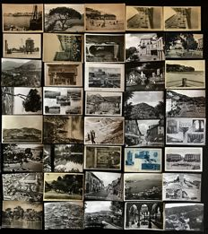 Italy - lot of 150 postcards of old cityscapes