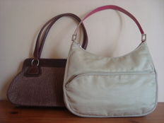 Lot Lancel - Shoulder and hand bag.