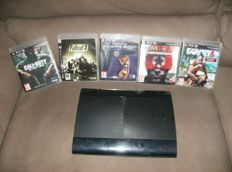 Playstation 3 - 500Gb with 5 games