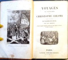 Washington Irving - Voyages et Aventures de Christophe Colomb - 1837