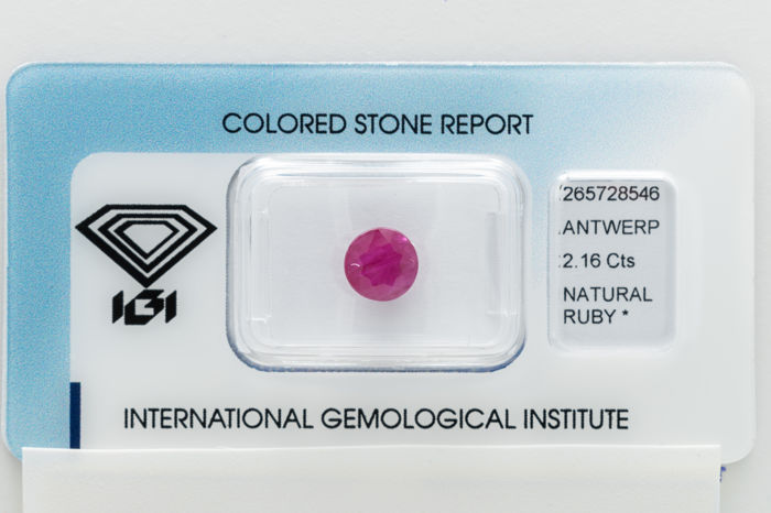 Ruby - 2.15 ct - No Reserve