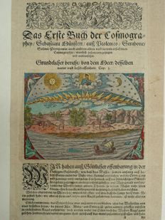 Heaven, Earth; Sebastian Münster - no title - ca. 1580