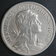 Portugal Republic – 50 Centavos 1938 – Scarce