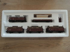 Märklin H0 - 46192 - 5-piece freight carriage set of the DB