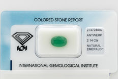 Emerald - 2.14 ct   *** No Reserve ***