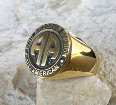 82nd Airborne Division All American Hypoallergenic 24k Gold Plated 21st Century