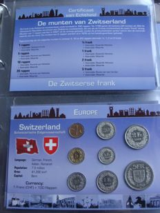 "Europe - Coin sets ""Coins of the World, continent Europe"" (20 different sets) in album"
