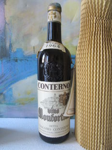 1964 Conterno Barolo riserva Vino Monfortino – 1 Bottle (72 cl)