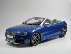 GT-Spirit - Scale 1/18 - Audi RS5 Cabriolet - Blue