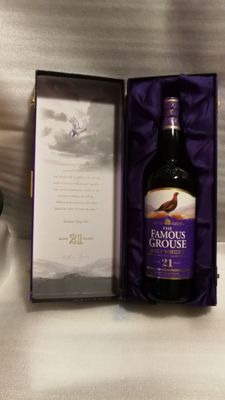 The Famous Grouse 21 years old,  Crafted by ex-Master Blender John Ramsey
