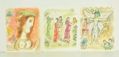Marc Chagall (after) - Lithogreaphs from 'Odyssey'