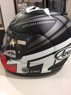 Arai Isle of Man - limited edition 2014 - size M