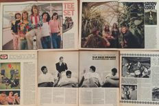 Nederpop - lot with 39 magazine articles about Dutch pop groups from the '60s - (1960/1972)