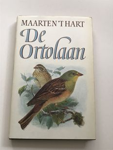 Dutch Book Week; Maarten 't Hart - De Ortolaan - 1984
