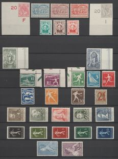 The Netherlands 1923/1939 –Selection between NVPH 81 and 331