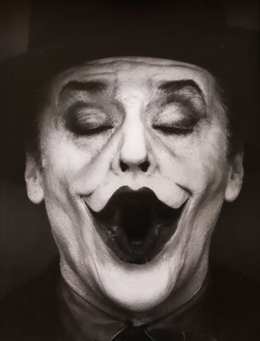 Herb Ritts (1952-2002) - 'Jack Nicholson I', from the series 'The Joker'