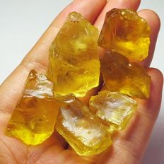 Lemon Citrine Specimen Facet Rough Natural - 255.15 Ct (6)