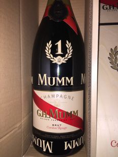 Mumm Cordon Rouge Brut Collectors F1 Formula One - 1 jeroboam (3ltr) in wooden case