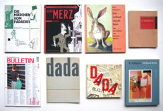 Lot with 7 books by/about Kurt Schwitters and Dada - 1958 / 2013