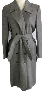 Escada - wrap dress - tailored fit - belt