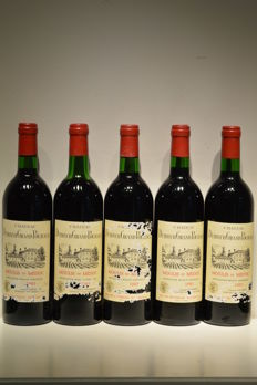 1983 Chateau Dutruch Grand Poujeaux, Moulis - 5 bottles (75cl)