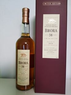 Brora 38 years 1977 Limited Edition 2016 Diageo's Release