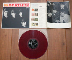 "The Beatles- Meet The Beatles lp/ very rare Japanese mono pressing on Odeon, on RED ""low noise"" wax/ comes w. insert, envelope inner & photo!"
