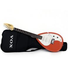 New Vox V-MARKIII Electric Guitar Salmon Red with gigbag