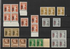 Switzerland 1882/1958 - Selection between Michel 58/656